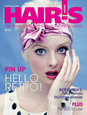 HOT by Hair's How Magazine, September 2008 issue - look inside