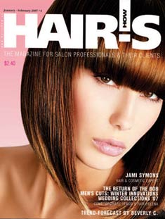 HOT by Hair's How Magazine, January/February 2007 issue - look inside