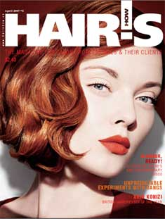 HOT by Hair's How Magazine, April 2007 issue - look inside