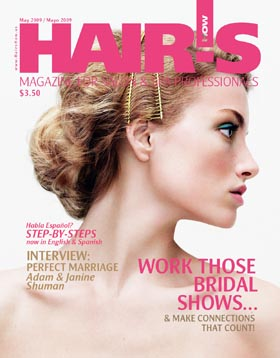 HOT by Hair's How Magazine, May 2009 issue - look inside