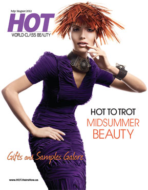 HOT by Hair's How Magazine, July/August 2012 issue - look inside