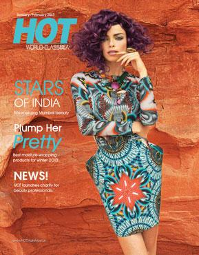 HOT by Hair's How Magazine, January/February 2013 issue - look inside