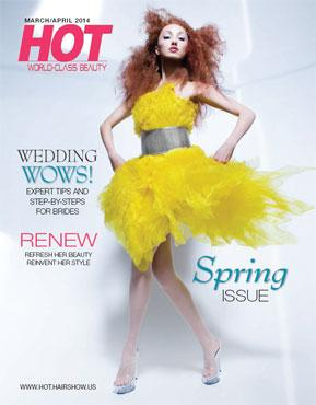HOT by Hair's How Magazine, March/April 2014 issue - look inside
