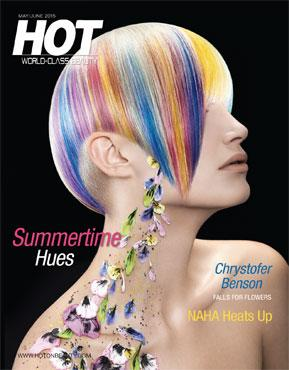 HOT by Hair's How Magazine, May/June 2015 issue - look inside