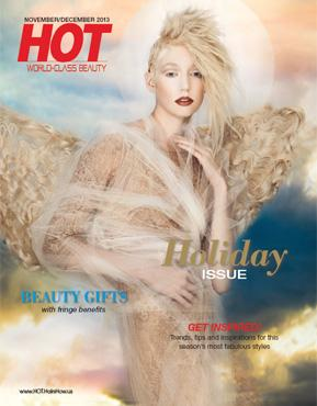 HOT by Hair's How Magazine, November/December 2013 issue - look inside