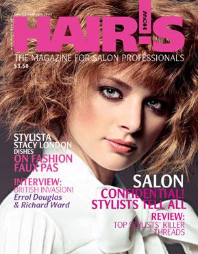 HOT by Hair's How Magazine, January/February 2009 issue - look inside