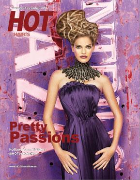 HOT by Hair's How Magazine, November/December 2011 issue - look inside
