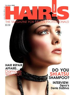 HOT by Hair's How Magazine, October 2008 issue - look inside